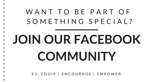 Join Our Facebook Community Group