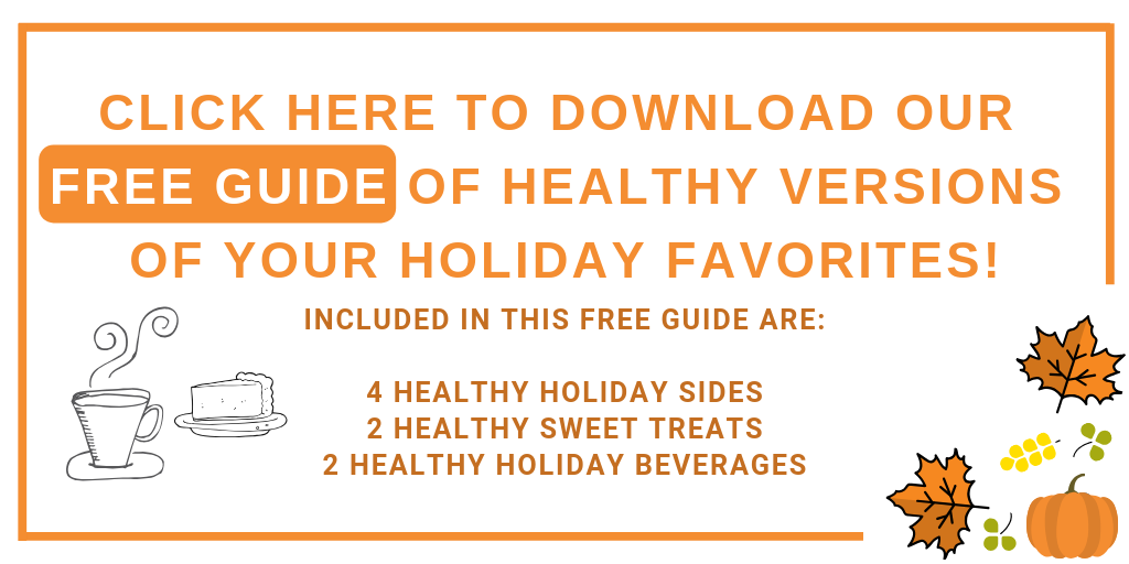 Healthy Holiday Recipes Freebie